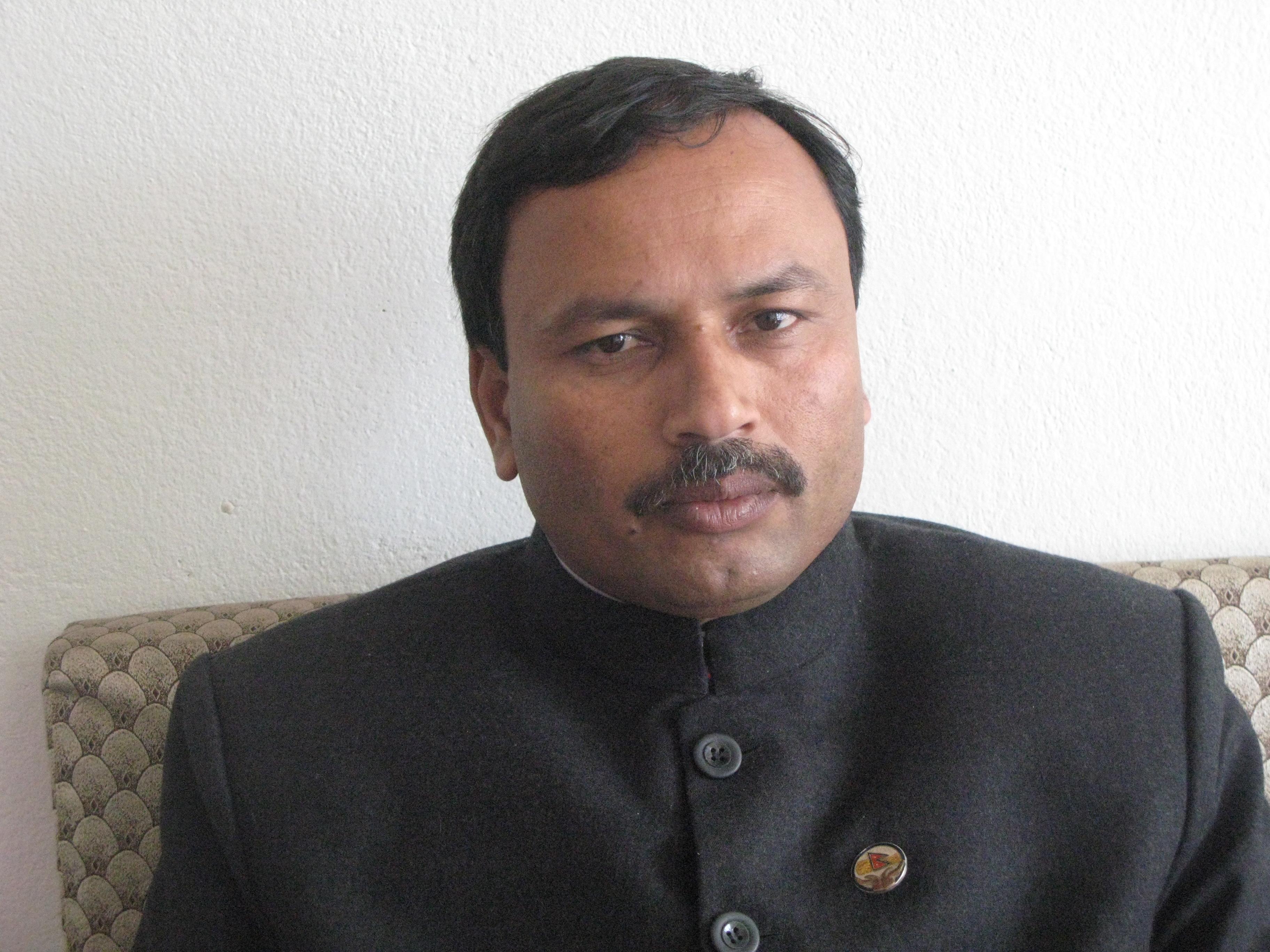 अनिल झा, नेपाल सद्भावना पार्टी के अध्यक्ष हैं