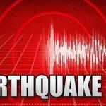 मणिपुर में  भूकंप का झटका