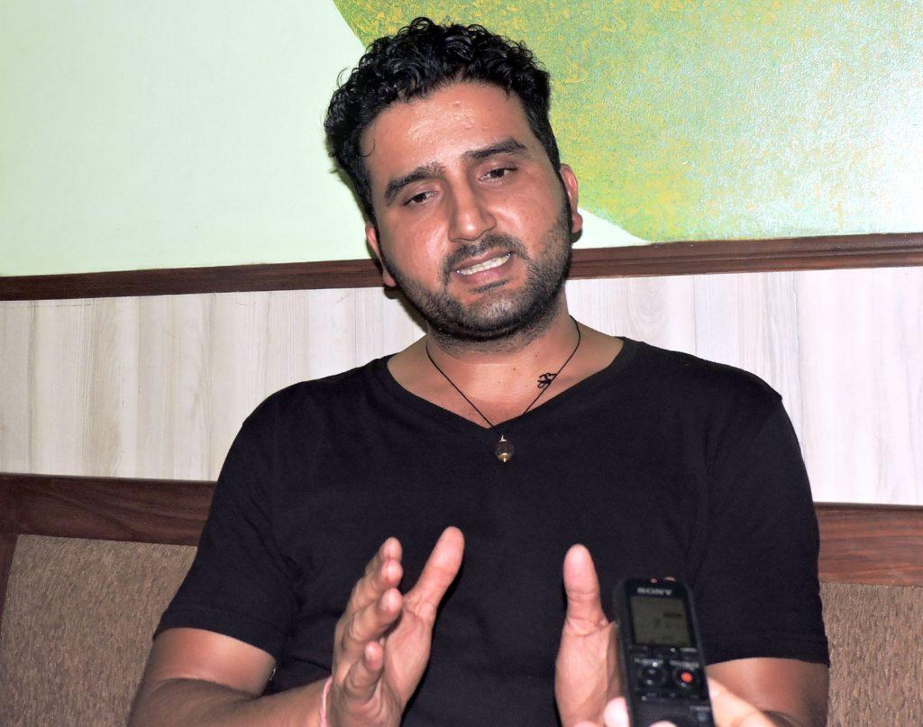 nepali actor sanjay khatiwada in Bollywood